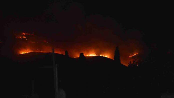 Ζάκυνθος, νέα πυρκαγιά,