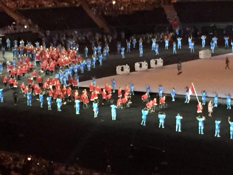 τελετή έναρξης, 15ων Παραολυμπιακών Αγώνων,