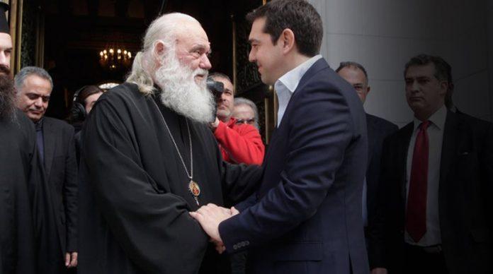 Αντεπίθεση του Αρχιεπισκόπου με «καμπάνια» υπέρ της συμφωνίας με Τσίπρα