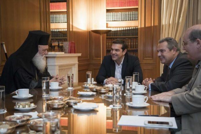 Το «μυστικό δείπνο» που έκλεισε τη συμφωνία Τσίπρα - Ιερώνυμου