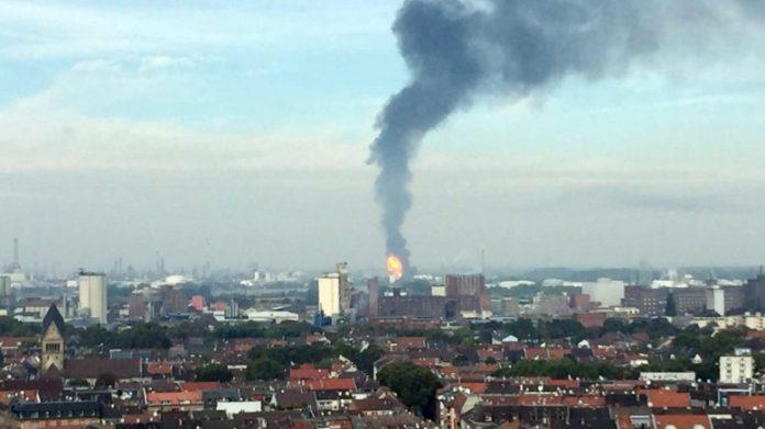 Γερμανία, έκρηξη, χημικό εργοστάσιο,