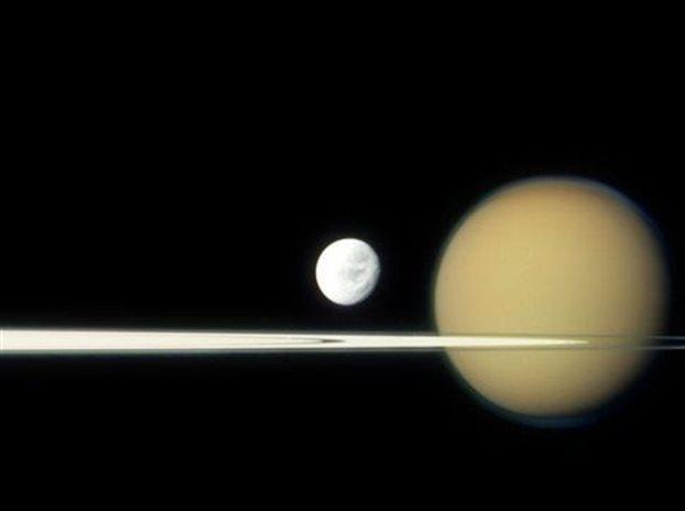 NASA, μοριακό υδρογόνο, Κρόνος,