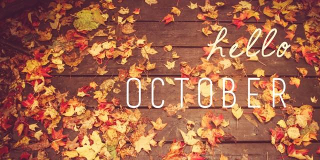 Οκτώβριος, γράμμα,