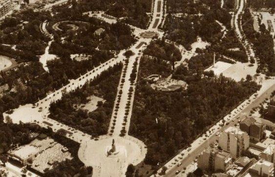 Πεδίο Άρεως, 1934, διαμορφώθηκε,