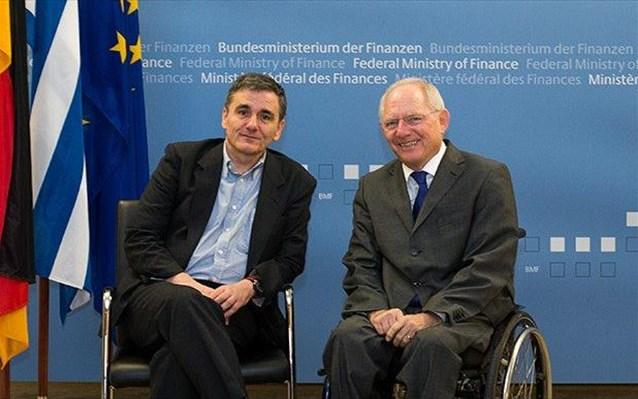 επαφές, τσακαλώτος, ΔΝΤ, Σόιμπλε, χρέος,