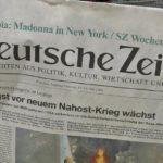 Süddeutsche Zeitung, Γερμανική κυβέρνηση, Ελλάδα,