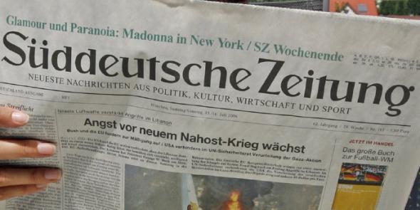 Sueddeutsche Zeitung, Ελλάδα, Σόιμπλε,