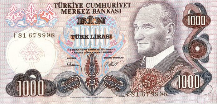 τουρκική λίρα, Ερντογάν, δολάριο,