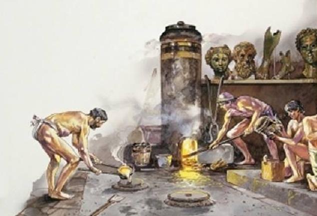 Έλληνες, μεταλλουργοί, αρχαιότητα,