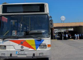 Θεσσαλονίκη: Σύγκρουση λεωφορείου του ΟΑΣΘ με 3 ΙΧ -Πληροφορίες για δύο τραυματίες