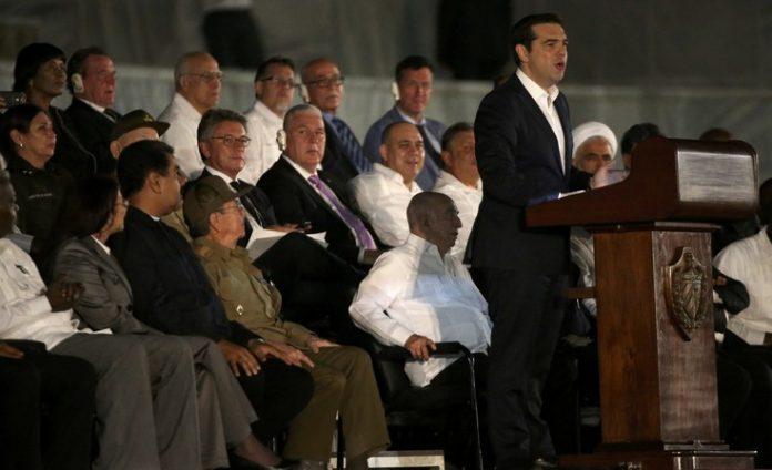 ΜΜΕ, Λατινικής Αμερικής, παρουσία, Τσίπρα, Κούβα,