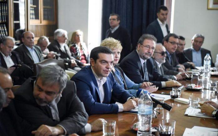 Αλ. Τσίπρας, γραφείο, Θεσσαλονίκη,