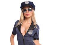 ανέκδοτο, ξανθιά, αστυνομικός,