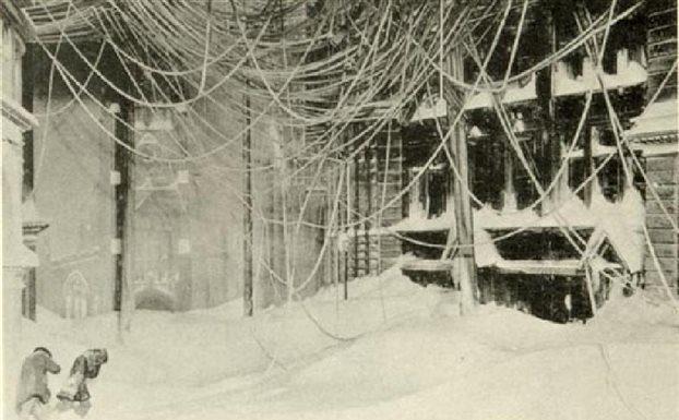 σαν σήμερα, χιονοθύελλα, Αθήνα, διακοπή ρεύματος, 1917,