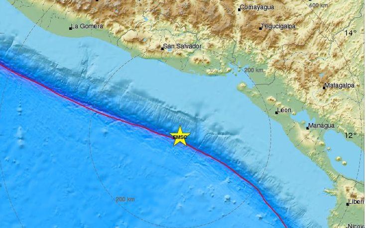 σεισμός, Ελ Σαλβαδόρ,
