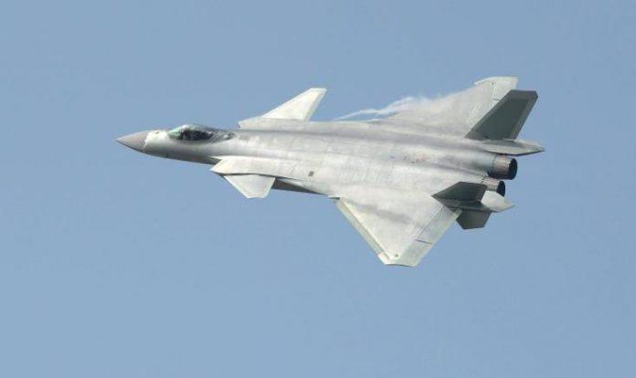 Κίνα, μαχητικό,Chengdu J-20,