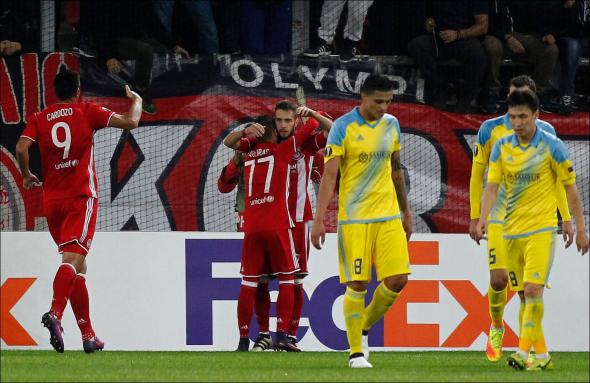 Αστάνα, Ολυμπιακός, 1-1,