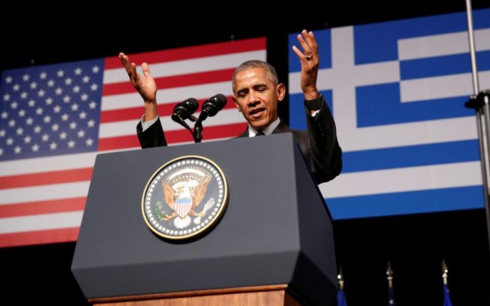 ομιλία, Ομπάμα, Ελλάδα,
