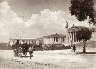 οδός Πανεπιστημίου, 1900,