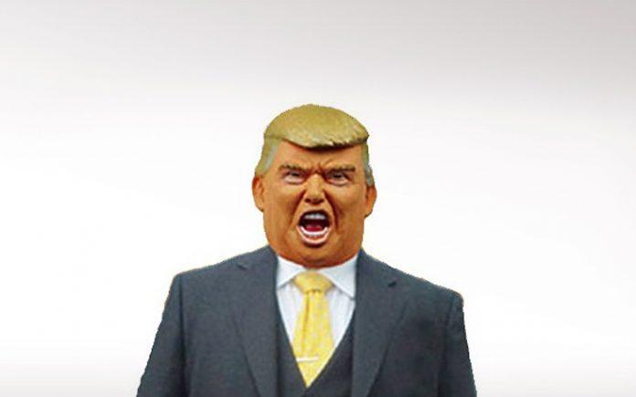 γιαπωνέζικη εταιρεία, μάσκες, Τραμπ,