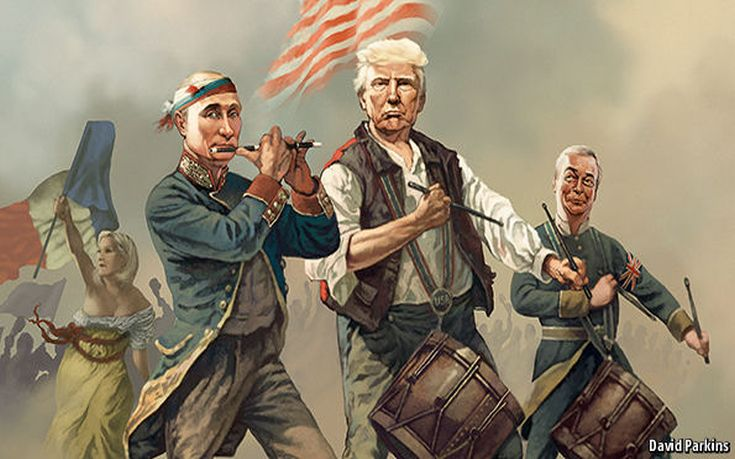 Economist, εξώφυλλο, Τραμπ,