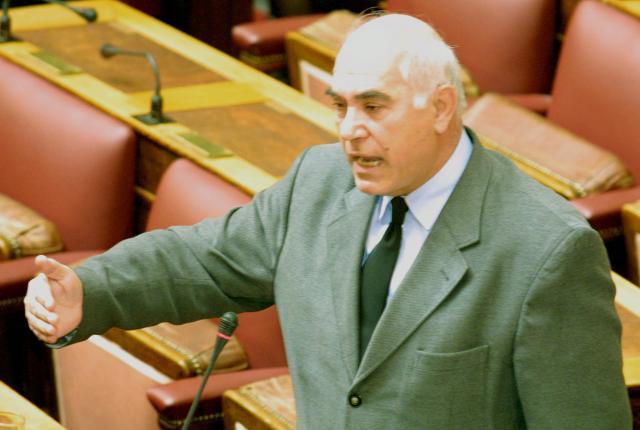 πέθανε, Γιάννης Χωματάς, πρώην βουλευτής ΝΔ,