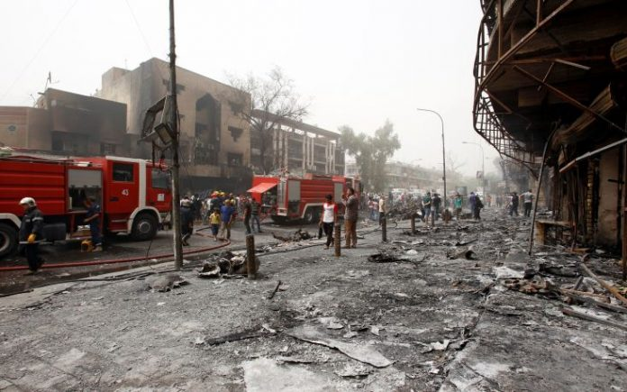 Βαγδάτη, έκρηξη, Ισλαμικό Κράτος,