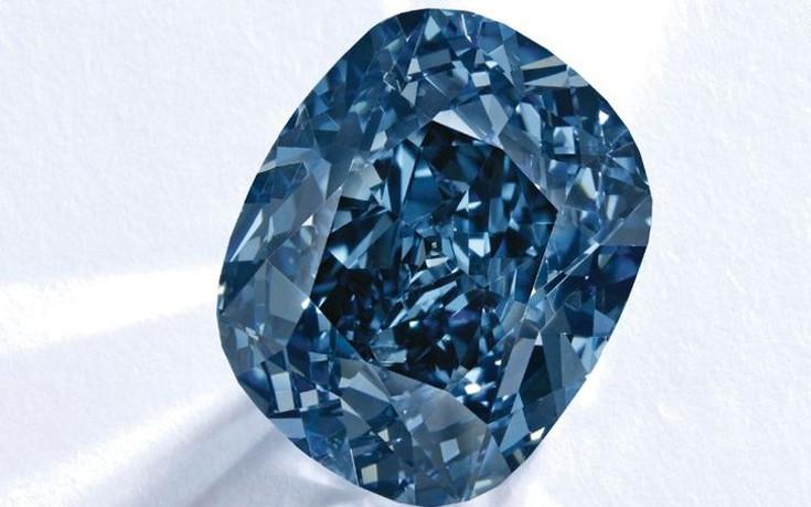 μπλε διαμάντι, πουλήθηκε,