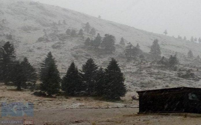 Χελμός, χιονίζει,