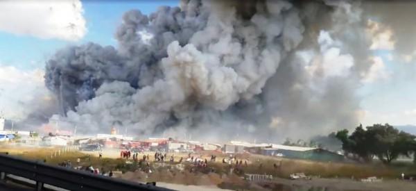 Μεξικό, έκρηξη, πυροτεχνήματα, 10 νεκροί,