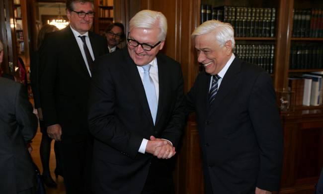 Παυλόπουλος σε Σταϊνμάιερ: Έχουμε το ίδιο όραμα για την Ευρωπαϊκή Ένωση