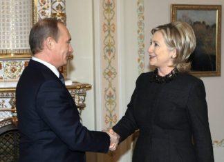 Πούτιν, Χίλαρι Κλίντον,