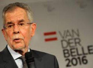 Αυστρία, νέος Πρόεδρος, Αλεξάντερ Βαν Ντερ Μπέλεν,