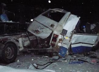 Σιβηρία, καραμπόλα, 11 νεκροί,