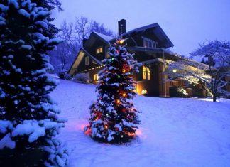 Χριστούγεννα, κρύο, χιόνια,