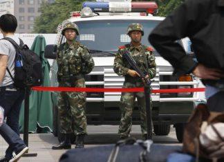 αιματηρή επίθεση, Κίνα, πέντε νεκροί,