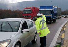 κυκλοφοριακές ρυθμίσεις, εθνική οδό Κορίνθου - Πατρών,