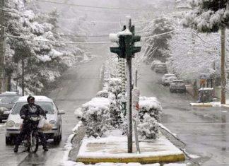 χιονίζει, πόλη Ιωάννινα,