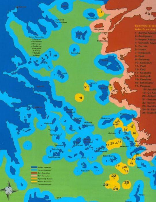 Τουρκία, προκλήσεις, νησιά, Αιγαίο,