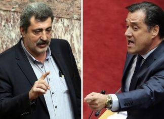 Βουλή, Πολάκης, Γεωργιάδης,