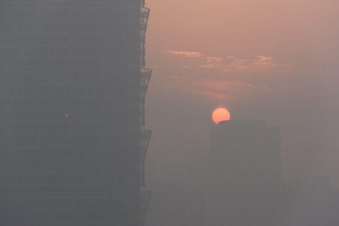 Κίνα, αιθαλομίχλη,