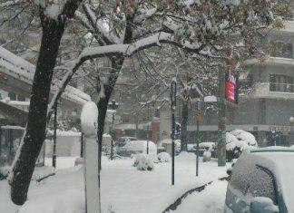 χιόνια, Τσικνοπέμπτη, Καθαρά Δευτέρα,