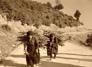 Μέτσοβο, 1950, σκληρή ζωή,