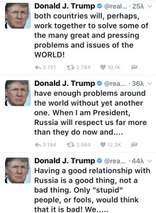 Τράμπ, Ρωσία, εχθρότητα,