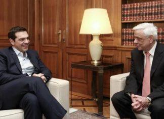 Ο Τσίπρας ενημερώνει σήμερα τον Πρόεδρο της Δημοκρατίας - Αύριο θα έχει με τους πολιτικούς αρχηγούς