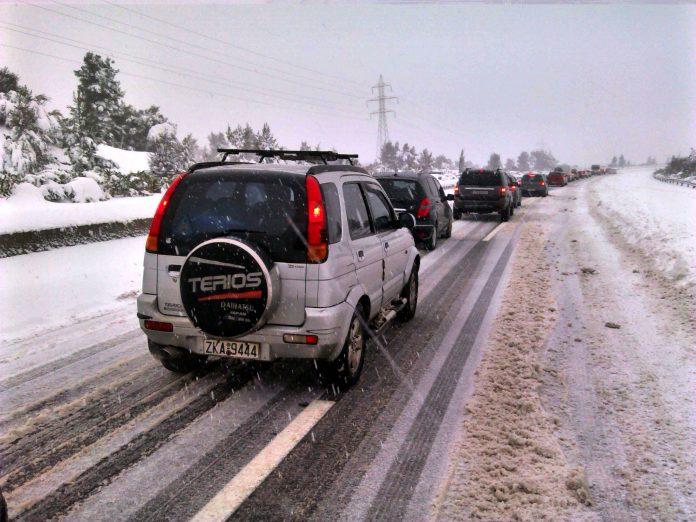 Καιρός: Χιόνια στα βόρεια προάστια της Αττικής την Κυριακή