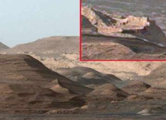φωτογραφία, NASA, Άρης, πόλη,