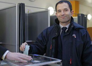 Γαλλία, Μπενουά Αμόν, προεδρικές εκλογές,