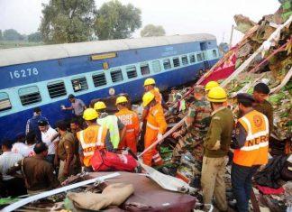 Ινδία, 36 νεκροί, εκτροχιασμός τρένου,