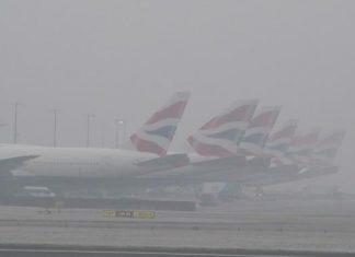 Λονδίνο, ομίχλη, πτήσεις,